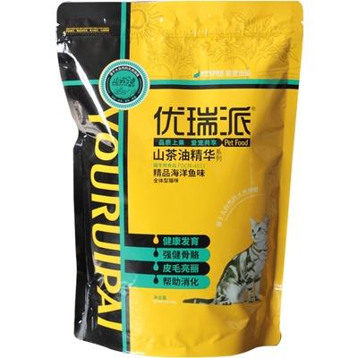 派得猫粮海洋鱼味低盐500g*5包