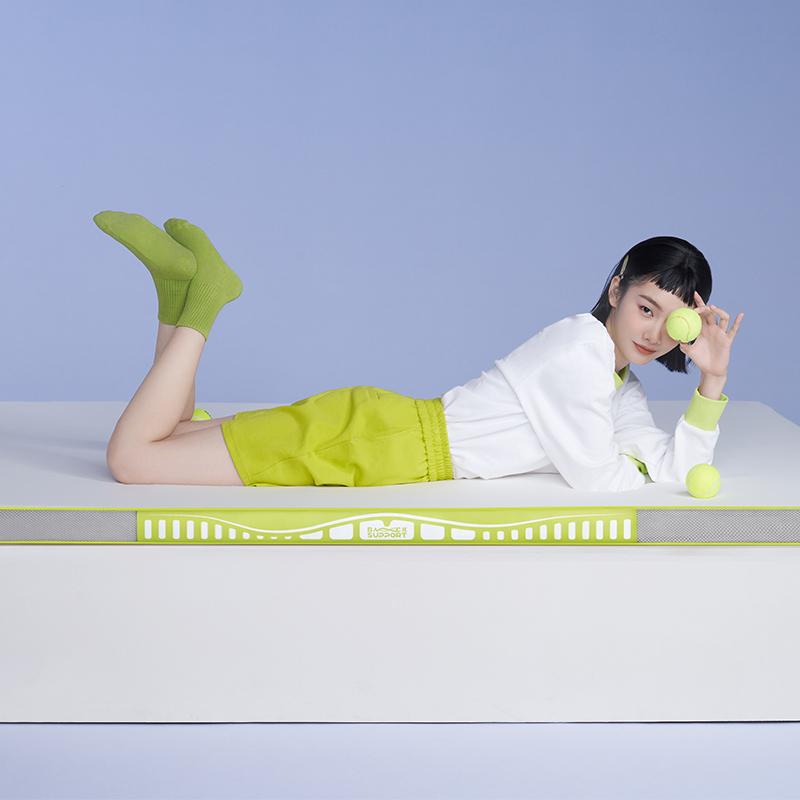 允宝&半练记忆棉床垫榻榻米可折叠家用分区软硬垫子护脊椎席梦思