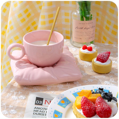 Pillow ceramic cup g...