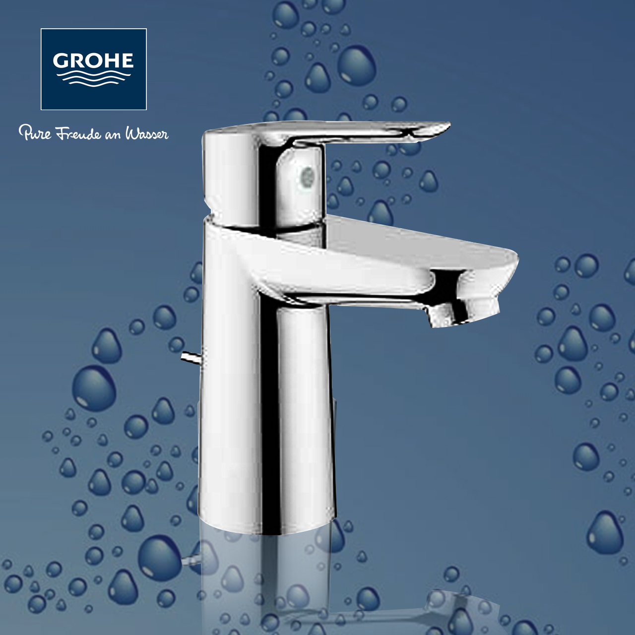 USD 434.53] Germany GROHE Grohe basin faucet bathroom Single Handle ...