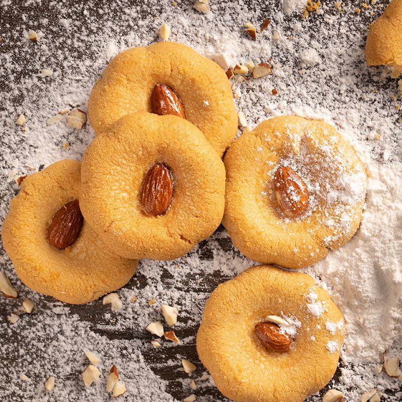 黄老五坚果乳酥特产桃酥休闲零食品酥脆饼干