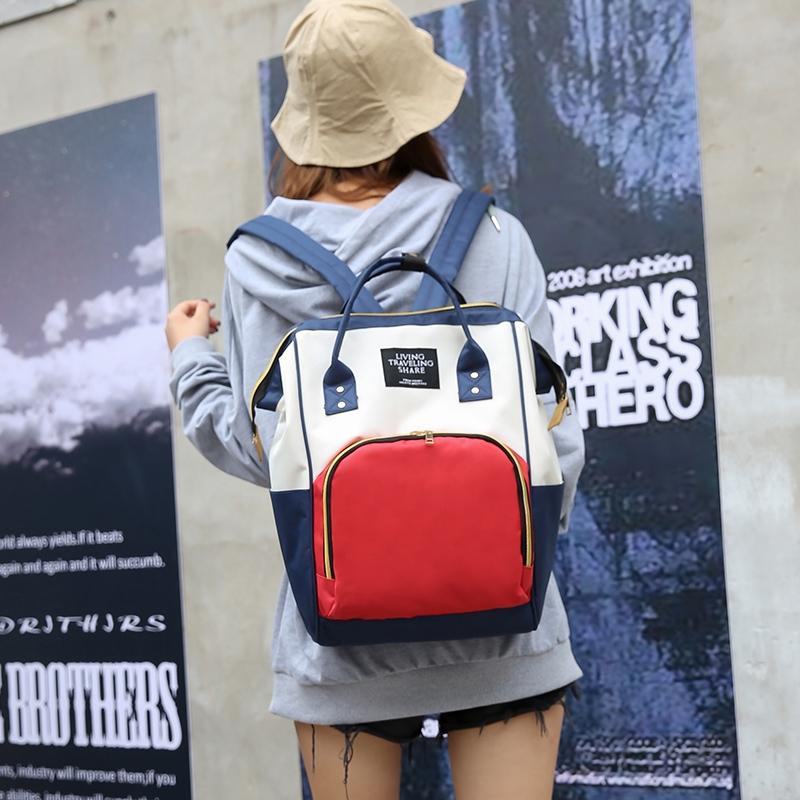 母婴背包防盗双肩包女妈咪包多功能大容量外出宝妈包包孕妇待产包