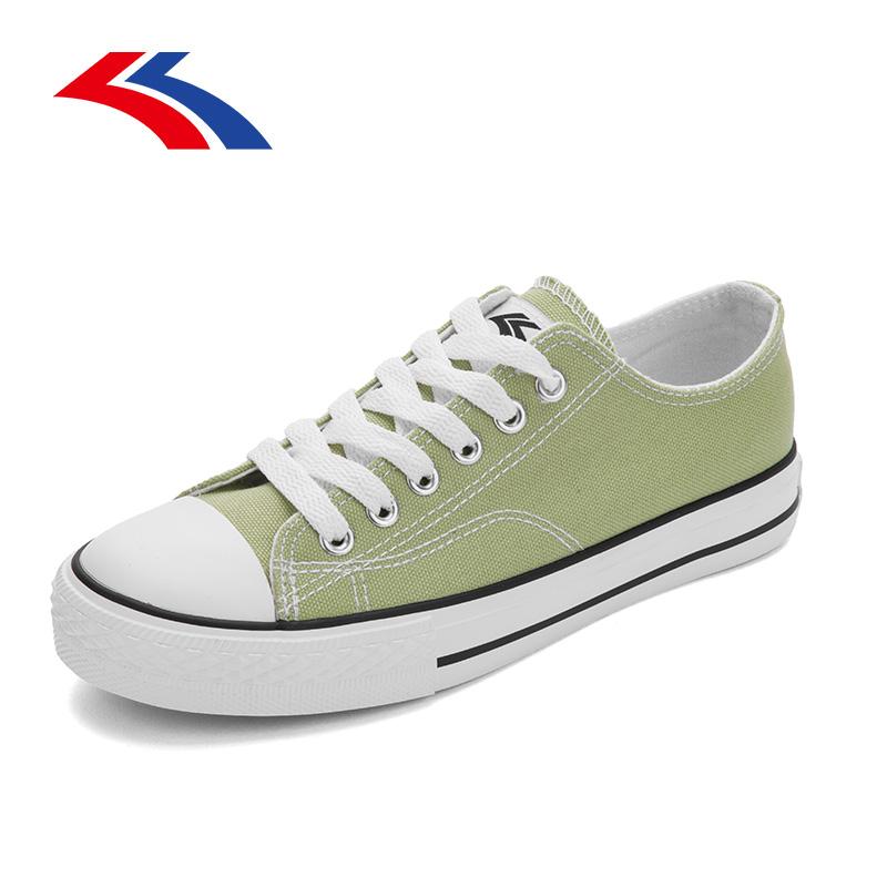 飞耀帆布鞋女低帮百搭夏季2020年新款韩版布鞋板鞋白色小白鞋子潮