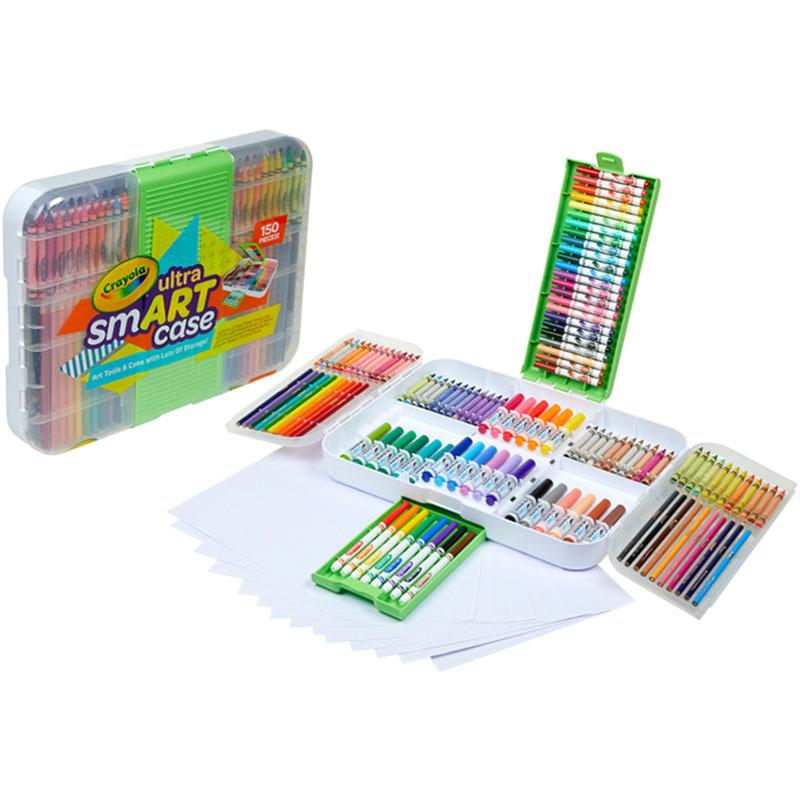 【双11预售】Crayola绘儿乐儿童画画工具套装绘画礼盒礼物小学生美术工具套装美术礼盒V2儿童绘画礼盒套装