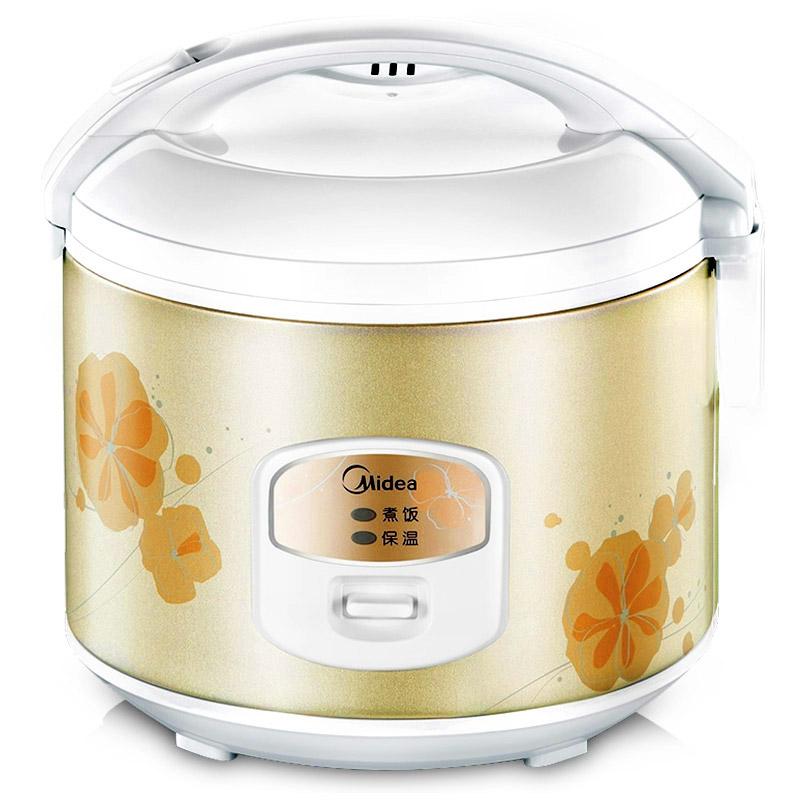 美的家用电饭煲老式迷你官方多功能电饭锅学生煲小型3L升2人3人食