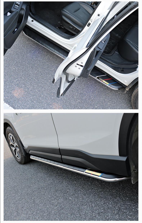 Bệ bước chân có Led, không led Subaru Forester 2013-2020 - ảnh 11