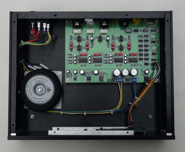 Fully balanced output hifi decoder TDA1305 DAC USB mobile phone OTG coaxial AES