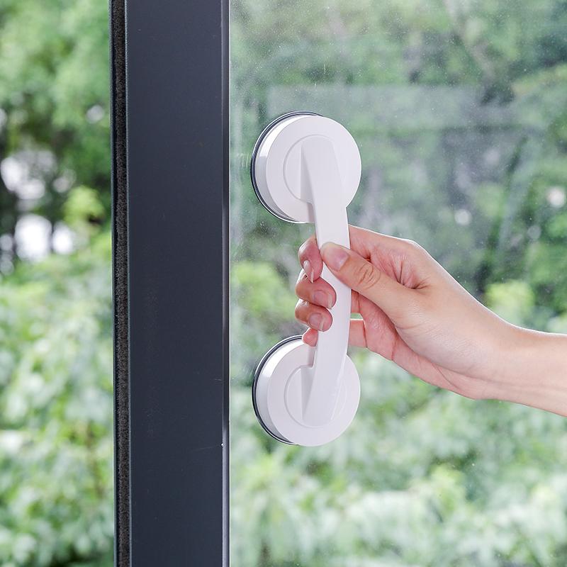 浴室扶手老人安全栏杆卫生间厕所马桶免打孔强力吸盘防滑门把手