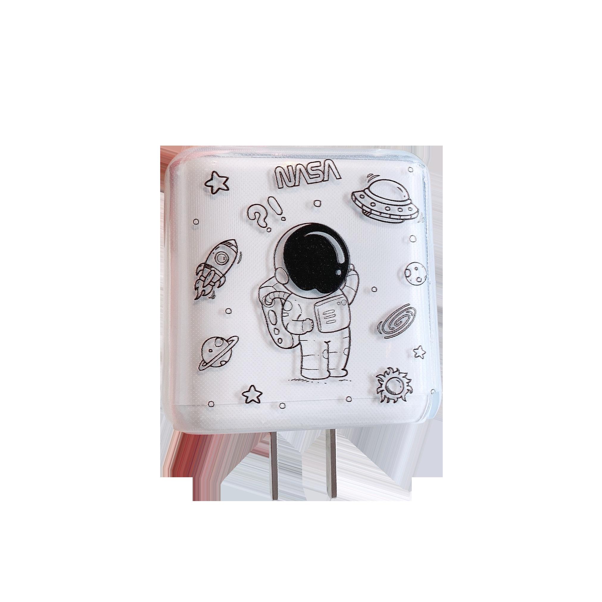 适用OPPO数据线保护套Reno6\\\/4\\\/5pro+\\\/Ace2\\\/FindX3充电器保护壳65W透明头套卡通带包手机数据线缠绕绳防折断