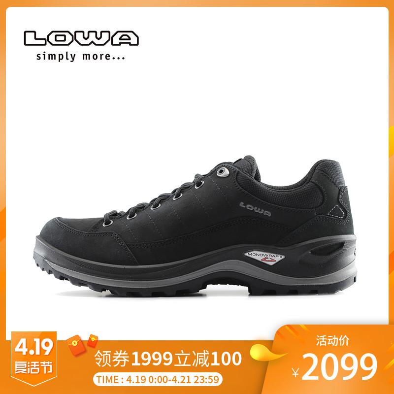 LOWA户外RENEGADE III GTX男式低帮款防水透气登山徒步鞋 L310960