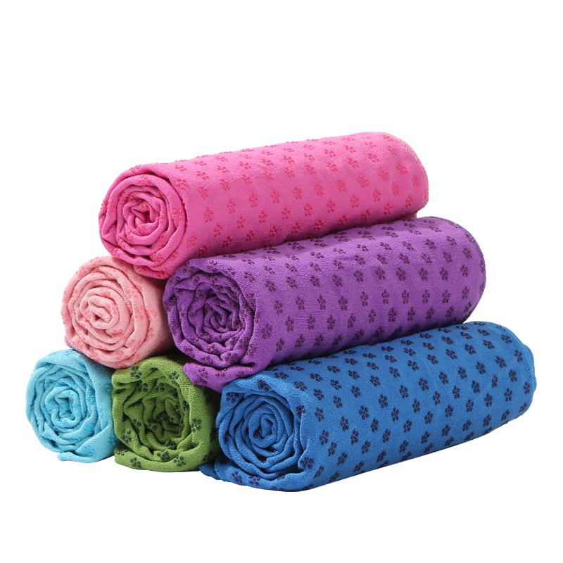 【送网袋】瑜伽巾瑜伽铺巾瑜伽垫铺巾瑜伽毯子防滑加宽吸汗可机洗