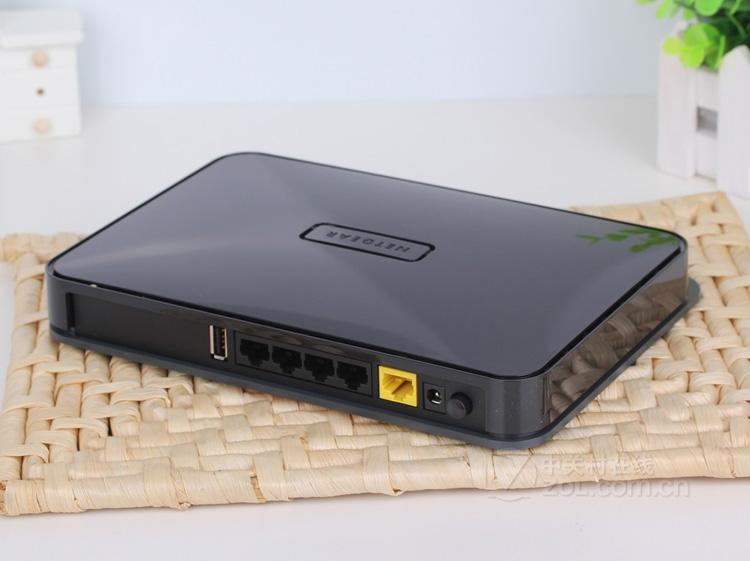 Netgear Wndr4300v1 dual-band wireless N750 gigabit wired home WiFi router