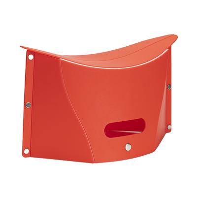 折叠凳塑料小板凳ins风旅行网红户外旅游便携式凳子超薄纸片矮凳