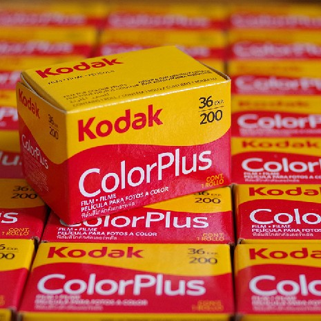 包邮彩色2019柯达正品Kodakcolorplus200度135胶卷原厂/菲林相机