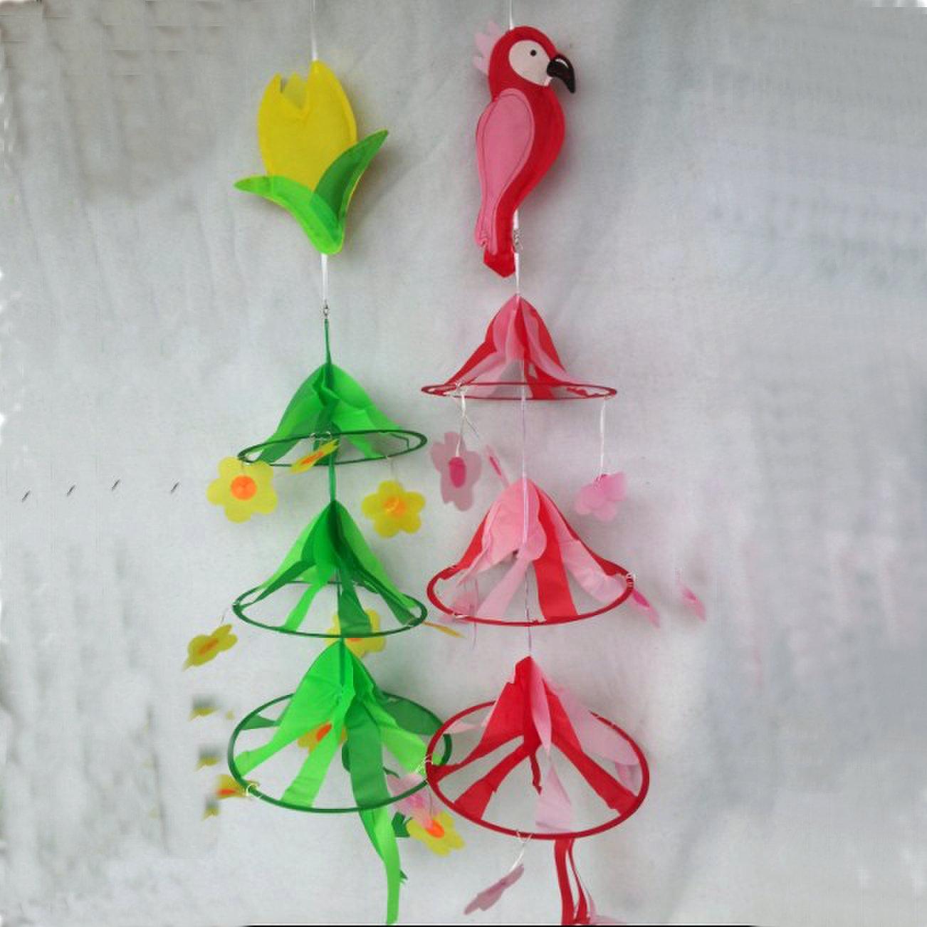 Все для декора Ткань круг кулон подвеска мельница каждой из трех-этажный детский сад украшения висит украшения висит украшения