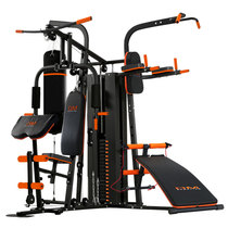 Combination of multifunctional home fitness equipment sports strength training equipment