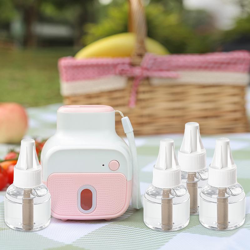 班尼兔婴儿孕妇电热驱蚊器家用充电式蚊香液