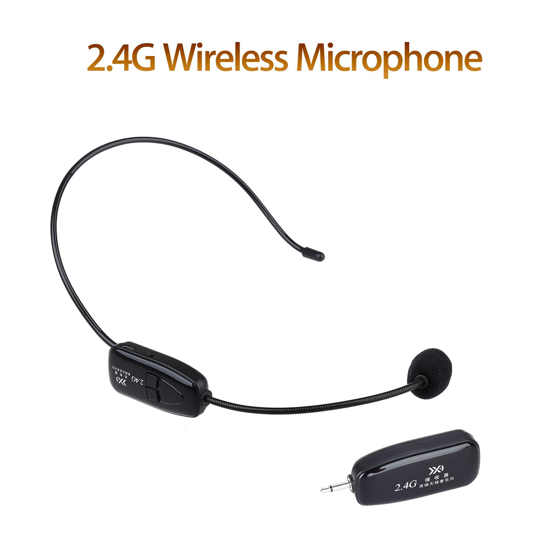 Novo Fone De Ouvido Microfone Sem Fio 2 4g Microfone Audio Pc E 3 5mm Jack Para Voz Booster Ebay