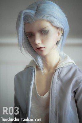 taobao agent 【drop】BJD3 points uncle beauty tip wig rough hair group, 6 colors are available, so low that the owner feels so painful