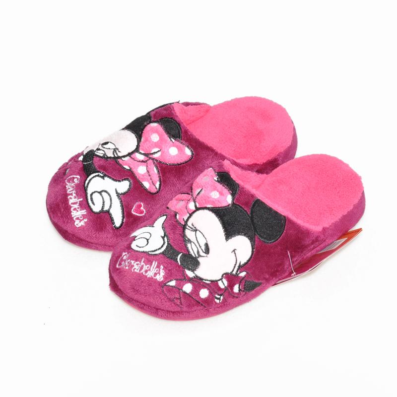 包邮正品2016年新款迪士尼女童儿童男孩拖鞋居家鞋a正品鞋秋冬季