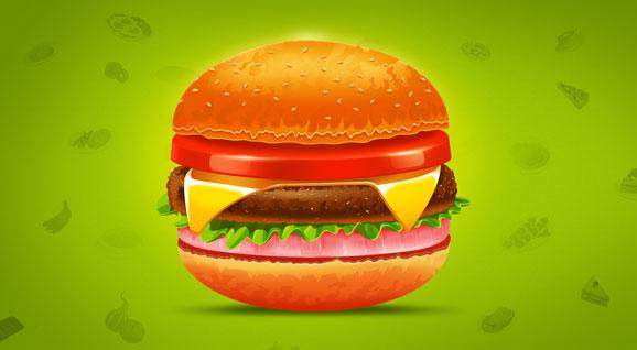 [鼠绘]-汉堡