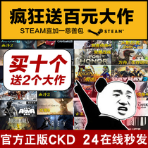 Steam charity pack Activation Code Steam plus a genuine game