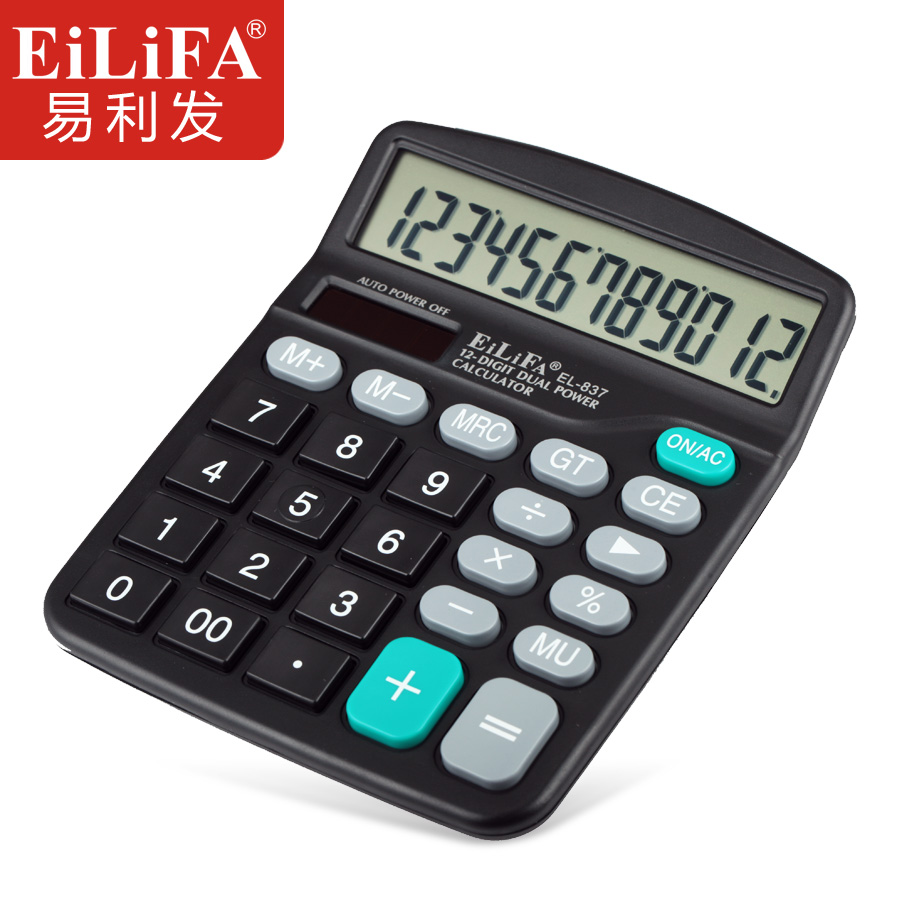 Usd 647 El 837 Calculator Computer 12 Bit Solar Dual Power Supply Calculations For Supplies Lightbox Moreview
