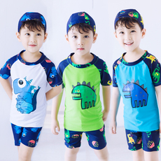 Childrens swimsuit Digby Sida Boy dinosaur