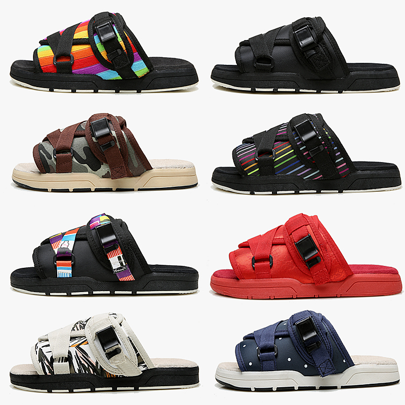 4ad9322e5ec5 Edison Chen slippers men and women Fujiwara hobby Korean version of the  couple casual slippers summer fashion platform beach sandals -  BuyChinaFrom.com ...