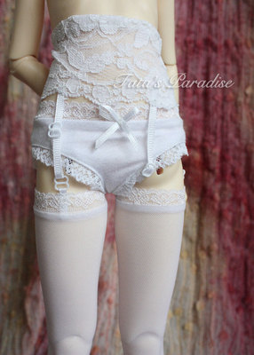 taobao agent 4 points and 3 points BJD.SD.MDD baby clothes matching ★black/white sexy lace garter stockings~adjustable~