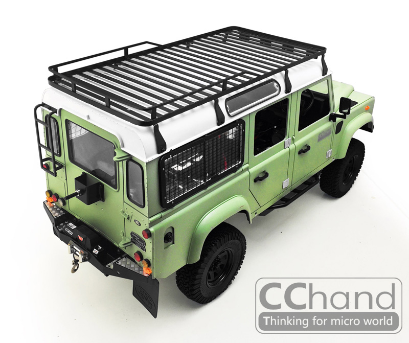 Land Rover Defender 110 Slimline Ii 3 4 Roof Rack Kit: NEW CC HAND Metal Roof Rack Assembly For RC4WD Land Rover