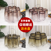 Leachate Cup Cup plate Cup hanger with pallet creative home living room