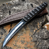 Wolf knife self-defense military knife outdoor knife straight knife wilderness survival knife