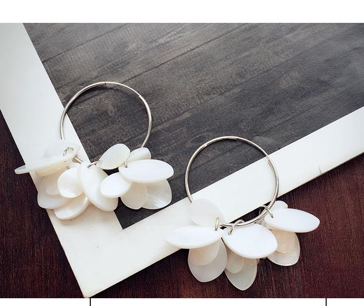 Boucles oreilles femme en Alliage / argent / plaqué or - Le Japon et la Corée du Sud - Ref 1114050 Image 9