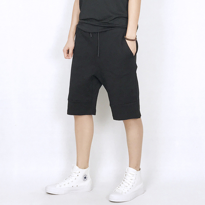 Leisure five-point shorts running training basketball pants les handsome T-code small men's clothing forest bend