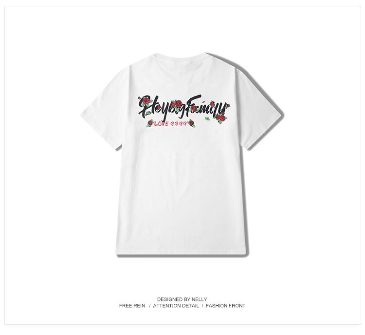 【THORNS】涂鴉oversize嘻哈日系原宿滑板死飛粉色打底短袖T恤男女情侶潮牌