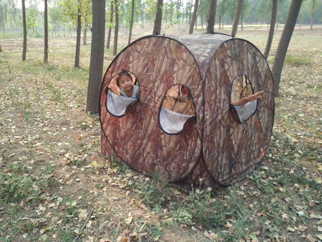 防生迷彩更衣洗澡帐篷钓鱼伪装观鸟拍鸟鸡帐篷详细照片