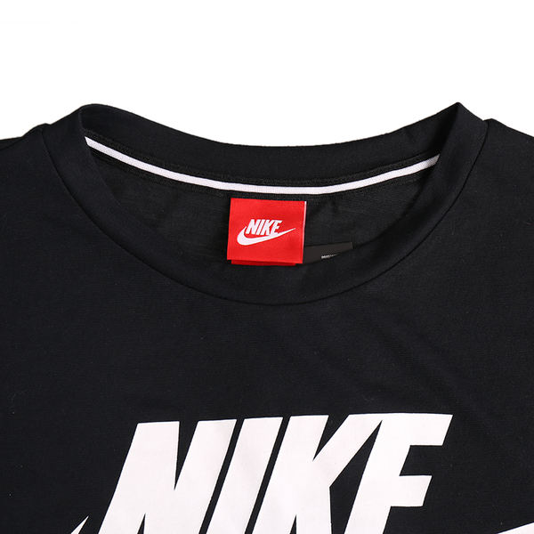 4dc840337d54 Nike Nike short-sleeved women s shirt 2019 summer new sports breathable  casual black and white T-shirt ...