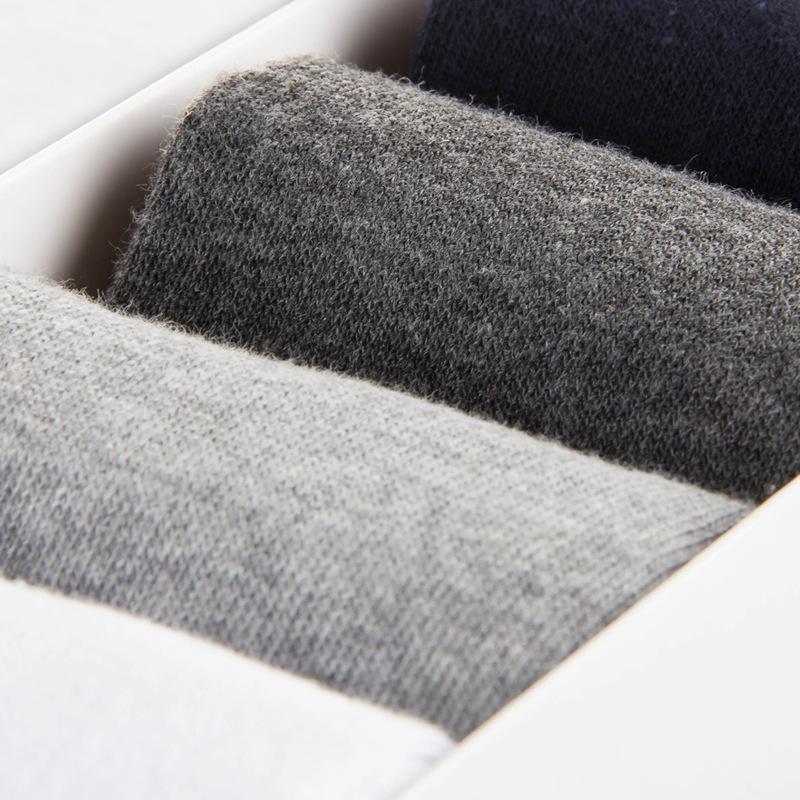 俞兆林夏季新款 5双礼盒装 男人袜 男棉袜夏短袜薄船袜[优惠20元包邮]