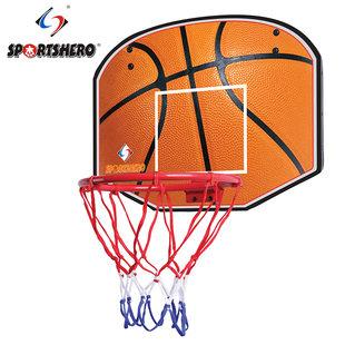 Ребенок среда подвесной комнатный спинодержатель баскетбол баскетбол корзина корзина домой декоративный игрушка литье 5 мяч