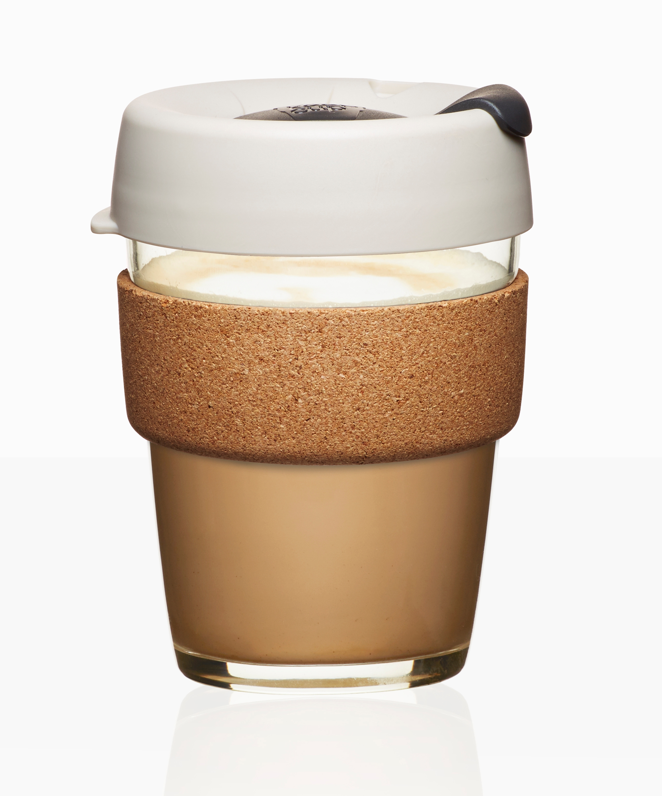 Usd 5546 Keepcup Glass Australia Imported European Coffee Cup Keep Doppio Medium 12oz 340ml Lightbox Moreview