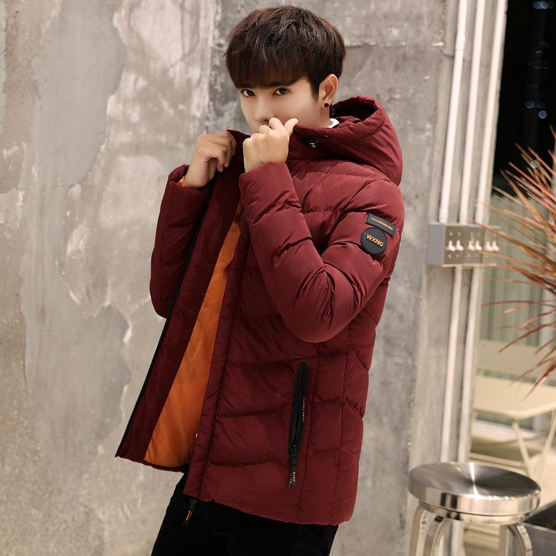 2017冬季新款外套 28青年男士棉衣20-25岁男装冬装羽绒棉服30棉袄