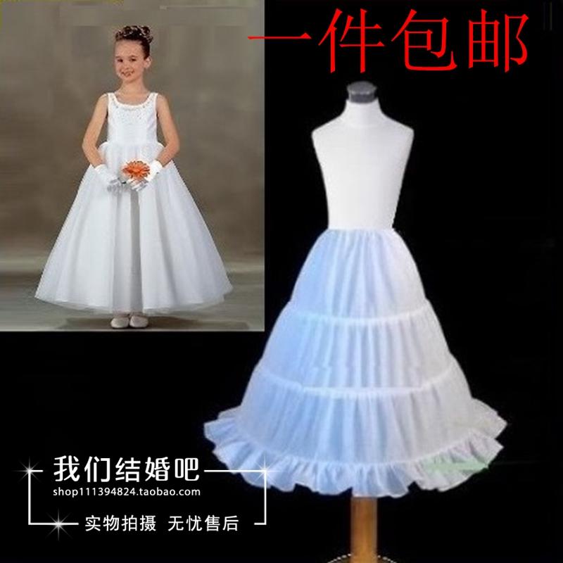 Девочки беспорядочного платье паньер ребенок принцесса платья паньер девочка цветок ребенок паньер свадьба диски поддержка юбка