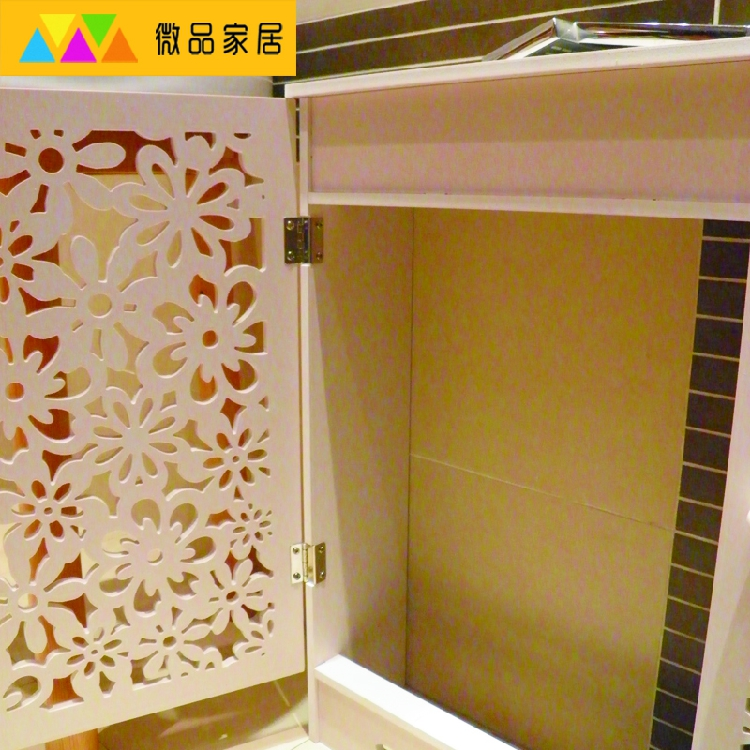 Fixed floor water separator cover cabinet decoration box Meter box ...