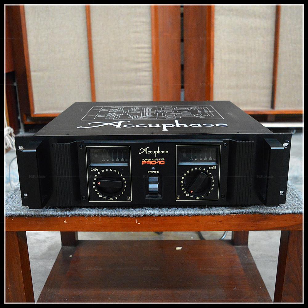 二手原装日本进口Accuphase/金嗓子PRO-10发烧大功率监听后级功放- SGshop