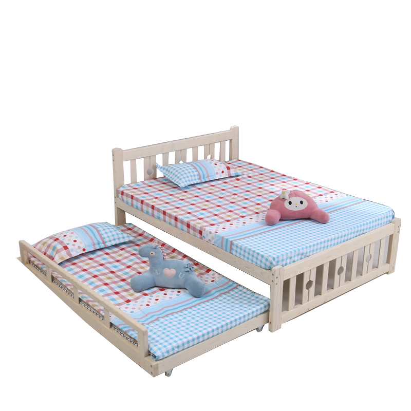 Usd 283 57 Solid Wood Single Bed Bunk Bed Height Bed Bed Can Be