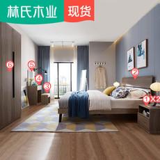 Двуспальная кровать Lin Wood DV1A