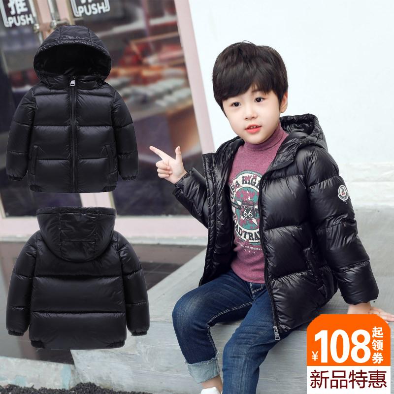女童羽绒服轻薄加厚婴儿宝宝儿童短款外套超轻中大童小童男童冬装