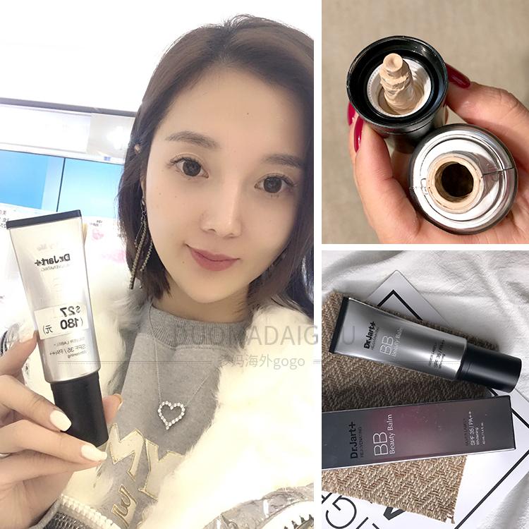 Sự lựa chọn của nhiều bà mẹ Hàn Quốc Dr.Jart / Di Jiating Silver Tube BB Cream SPF35 / PA ++ Oil Control Concealer Fixing Makeup - Kem BB