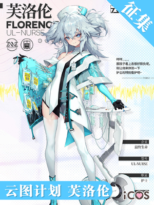 taobao agent Has formed a group ICOS cloud map project Floren cos nurse uniform girl frontline cosplay costume female